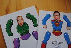Superman-Hampelmann-DIY-Vatertag