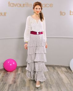 Wear your true self like no-one else does - Colors of Love - Ouh La La II Dress Occasion Wear, Special Occasion, French Riviera Style, Women Life, Creative Design, Lace Skirt, White Dress, Feminine, Princess