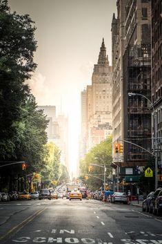 Central Park West New York City Photo Art Print Poster 12x18 #GothamExchangeeBay