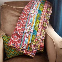 Throw blanket - Playful bohemian pattern