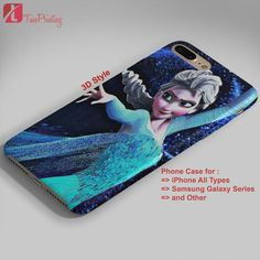 Disney Frozen Elsa Quotes Case - Personalized iPhone 7 Case, iPhone 6/6S Plus, 5 5S SE, 7S Plus, Samsung Galaxy S5 S6 S7 S8 Case, and Other