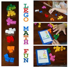 Do need a fun way to practice math facts? This Lego® activity is just the thing!