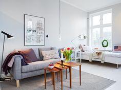 El perfecto piso de estudiantes - Estilo nórdico | Muebles diseño | Blog de decoración | Decoración de interiores - Delikatissen