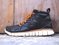 """ナイキ フリーラン 2 ミッド """"ブラック・レザー"""" - Nike Free Run 2 Mid """"Black Leather"""""""