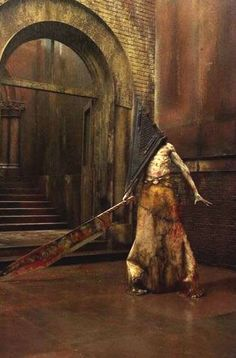 Red Pyramid from the Silent Hill movie.  Seriously one of my favorite horror film creatures, ever.