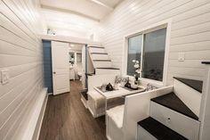 Living Area - Hekkert Hideaway by Free2Roam Tiny Homes
