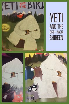 Picture Books about Friendship Yeti and the Bird - Nadia Shireen An unlikely friendship!