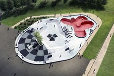 Skate park in Reims by Planda architectes and Constructo