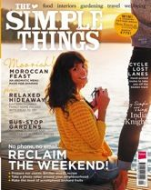 The Simple Things - magazine. When current subscription ends