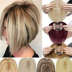 Human Hair Clip Ins, Remy Human Hair, Indian Hairstyles, Bob Hairstyles, Pelo Pin Up, Medium Hair Styles, Short Hair Styles, Hair Styles For Women Over 50, Clip In Hair Pieces