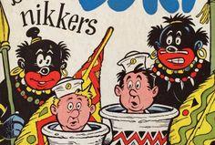 Een kleine zestig jaar geleden verscheen een vrolijk kinderboekje van de Nederlandse schoolleraar Henri Arnoldussen, getiteld 'Oki en Doki bij de nikkers' (1957).