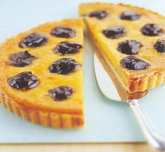 Prune and Marzipan Tart - must make this dessert.