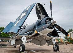 The Cavanaugh Flight Museum's FG-1D Corsair prior to our air to air shoot at the 2015 ISAP dream shoot.
