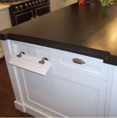 hidden outlets in the kitchen
