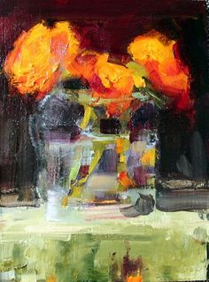 Orange Still Life by georganna lenssen, Painting - Oil | Zatista
