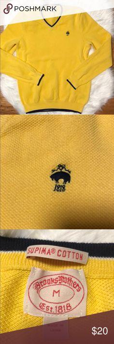 Brooks Brothers Supima Cotton medium Men's sweater Brooks Brothers Supima Cotton medium Men's sweater. Perfect!!  Smoke and pet free home. Bundle with another Brooks Brothers piece. Brooks Brothers Sweaters Crewneck