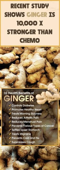 Ginger is loaded with different medicinal properties and uses, similar to its popular cousin, the well-known powerful turmeric. However, did you know that ginger is exceptionally potent when it comes to treating cancer? The effects of turmeric on cancer a Natural Cure For Arthritis, Natural Cures, Natural Health, Health And Nutrition, Health Tips, Health And Wellness, Wellness Fitness, Health Foods, Cancer Fighting Foods