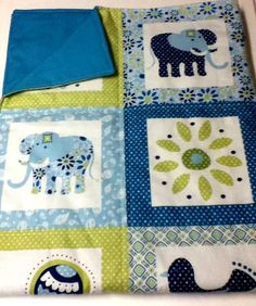 Cotton Baby Blanket by PurfectlyEnclosed on Etsy, $30.00
