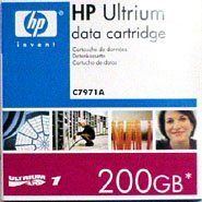 HP LTO-1 Ultrium 100/200GB 609M Tape Cartridge 1-Pack C7971A by HP. $29.03. HP LTO-1 Ultrium 100/200GB 609M Tape Cartridge 1-Pack C7971A. Product may differ from image shown.