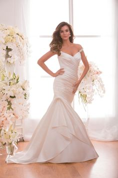 Style * F171002 * » Wedding Dresses » Jasmine 2015 Spring Collection » by Jasmine Bridal » Available Colours : Ivory, White