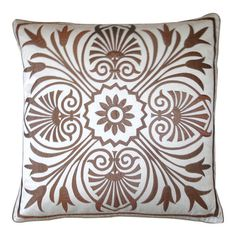 I pinned this Victoria Pillow in White & Penny from the Marrakesh Market event at Joss and Main!