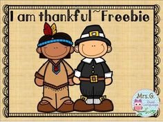 Thanksgiving Freebie Here are some pages (2 in English, 3 in Spanish) to give your students an opportunity to express their thankfulness.