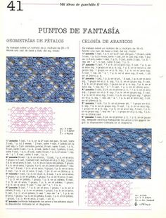 Album Archive - Mil ideas a ganchillo Crochet 101, Crochet Diagram, Crochet Chart, Crochet Stitches Patterns, Stitch Patterns, Free Graphics, Hand Stitching, Symbols, Knitting