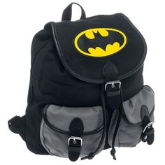 Batman  Backpack  »Logo« | Buy now at EMP | More Fan merch  Backpacks  available online ✓ Unbeatable prices!