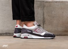 NEW BALANCE M1500GRW *MADE IN ENGLAND* (GREY / RED)