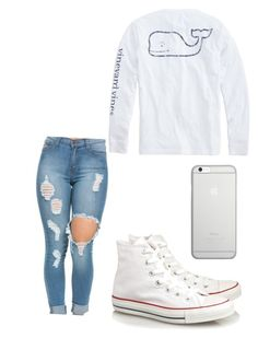 How to wear converse by talayah-1 on Polyvore featuring polyvore, fashion, style, Vineyard Vines, Converse, Native Union and clothing