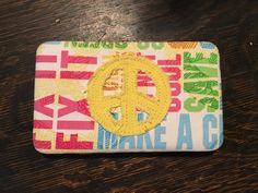 Peace Sign Cloth Wallet | eBay