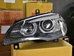 Sonar headlight for BMW Visit our website on www.mu for prices and more products details. Bmw X5 E70, Website, Products, Gadget