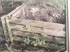 Kompostbeholder af paller