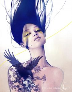 Illustrations by Viet-My Bui....love this!