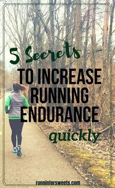 Whether you're training for a long distance race, or running to improve your fitness, increasing your running endurance is key to continued success as a runner. This tips will have you building running endurance quickly and easily! Improving your running Running For Beginners, How To Start Running, How To Run Faster, How To Run Longer, Marathon Training, Marathon Tips, Endurance Training, Running Training, Trail Running