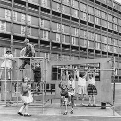 Park Hill Sheffield, 1963
