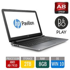 "Hp #pavilion #15-ab150sa 15.6"" #laptop notebook amd 2.2ghz 8gb 2tb windows 10,  View more on the LINK: 	http://www.zeppy.io/product/gb/2/222061617378/"