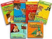 A great series about a classroom hamster. There are so many funny things that happen due to Humphrey and his ideas. There are 9 or 10 books in the series.