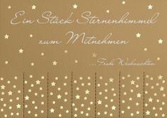 Stars to go - Sternenhimmel zum mitnehmen - love it <3