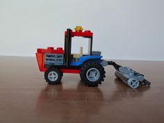 LEGO INSTRUCTIONS to build a custom 5th wheel camper