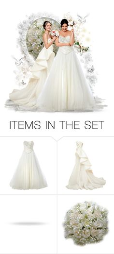 """Sisters Wedding"" by reluna ❤ liked on Polyvore featuring art, artset, artexpression and polyvoreset"