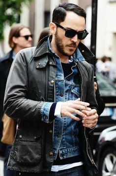 veste en cuir homme, comment s'habiller selon les tendances homme 2016