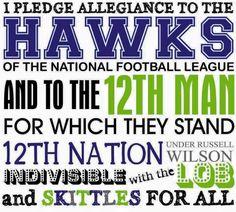 I pledge allegiance...✌️