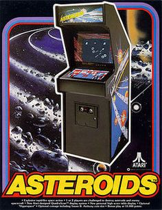 Save your rocket from all the flying pieces of rock! This arcade game to shoot down asteroids was one of the most popular arcade games of its time.