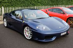 The 360 Modena replaced the aging 355 as Ferrari's bread and butter mid-engine sports car, bearing a free-breathing V-8 and eye-catching looks