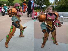 Building A Spectacular Varia Suit Samus 'Metroid' Cosplay