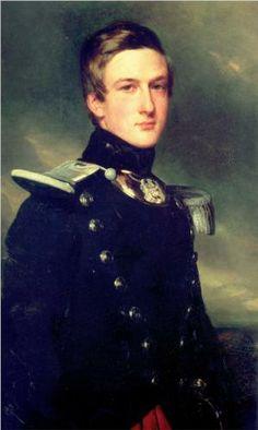 Henri Eugene Philippe Duc d'Aumale, Commander of the 17th Batallion of the Light Infantry - Franz Xaver Winterhalter