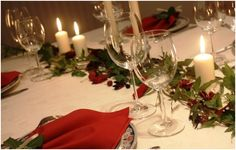 mesa decorada natal - Pesquisa Google