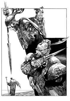 Sharaz-De (tome 2) par Sergio Toppi
