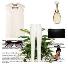 El look del día está protagonizado por el dueto inseparable: blanck  white.  1.- Perfume J'adore- Christian Dior http://fashion.linio.com.mx/a/4